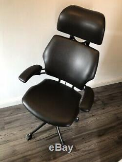 Humanscale Freedom Leather Headrest Office Chairs