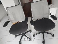 Humanscale liberty leather office chair