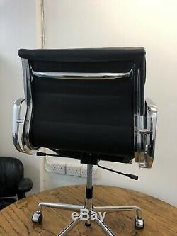 ICF Charles Eames EA217 Soft Pad Black Icf