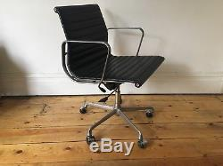 ICF Eames EA117 Swivel Office Desk Chair Leather Made in Italy