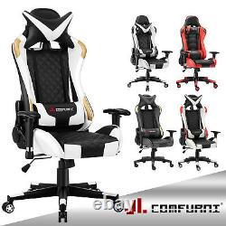 JL Comfurni Executive Luxury Racing Gaming Chair Home Office Desk Computer Chair