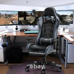 JL Comfurni Executive Racing Gaming Home Office Chair Swivel Computer Desk Chair
