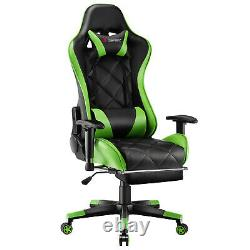 JL Comfurni Executive Racing Gaming Office Chair Recliner Home Computer Chair