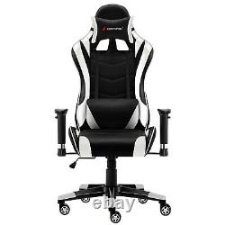 JL Comfurni Gaming Computer Office Chair Executive Swivel Home Recliner Chair