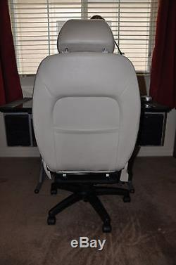Jaguar X-Type Power Leather Car Seat Executive Manager Office Gaming Race Chair