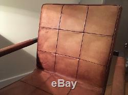 John Lewis Calia Classico Leather Office/Dining Chair Like brand new RRP £379
