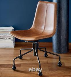 John Lewis & Partners Slope Leather Office Chair Saddle RRP £499