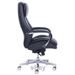 La-Z-Boy Black Leather Executive Comfortable Office Chair Ergonomic Features