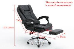 Luxury Computer Chair Office Gaming Swivel Recliner Leather Executive