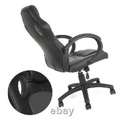 Luxury Computer Chair Office Home Gaming Swivel Recliner Leather Executive