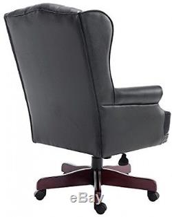 Luxury Executive Antique Manager Directors Chesterfield Office Chair PU Leather