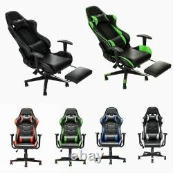 Luxury Executive Racing Gaming Office Chair Lift Swivel Computer Desk Chairs NEW