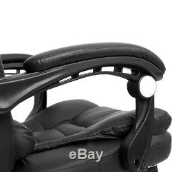 Luxury Massage Computer Chair Office Gaming Swivel Recliner Leather Executive #1