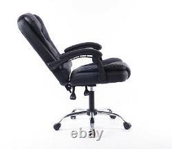 Luxury Massage Computer Office Desk Gaming Chair Swivel Recliner UK