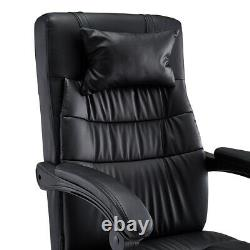 Luxury Office Computer Desk Chair PU Leather Swivel Home Executive Gaming Chairs