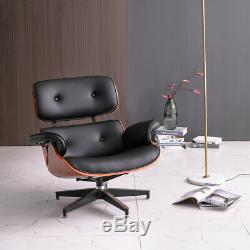 Luxury PU Office Chair Lift Swivel Home Sofas Armchairs Couches with Footrest