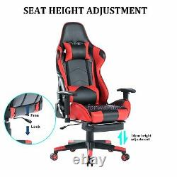 Luxury Recliner Executive Office Chair Leather Swivel Computer Desk Gaming Chair