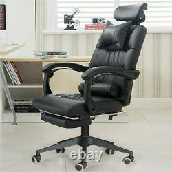 Massage Computer Chair Gaming Office Swivel Recliner Faux Leather Executive Desk