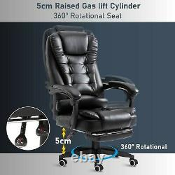 Massage Executive Office Chair Computer Desk Chair Swivel Recliner Gaming Chair