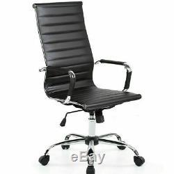 Modern Designer Office Executive Swivel Chair Pu Leather Computer Desk Seat Task