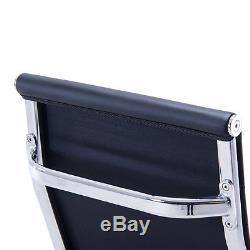 Modern PU Leather Office Chair Ergonomic High Back Executive Computer Desk UK