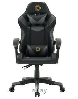 NEW Racing Swivel Office Gaming Computer Chair Mesh Bucket PU Leather Heavy Duty
