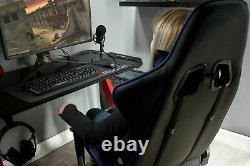 New X Rocker Alpha eSports Ergonomic Office Gaming Chair Blue-GO94