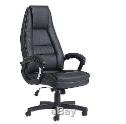 Noble Executive Leather Office Chair FREE DELIVERY