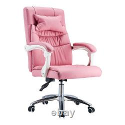 Office Chair Computer Desk Swivel Chair Gaming Cahir Padded Seat Chair for Lady