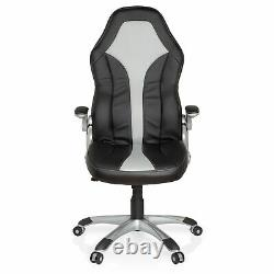 Office Chair Gaming Chair Executive Chair Black Armrests RAYCER 400 hjh OFFICE