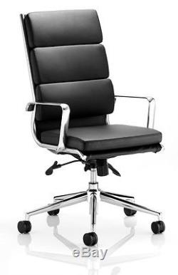 Office Chair Leather Computer Executive Apprentice Style Director Manager Boss