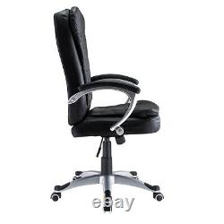 Office Chair Leather Executive Luxury Comfortable Computer Chair Swivel