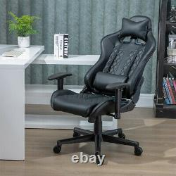 Office Gaming Racing Chairs Swivel Headrest Lumbar Support for PC Computer Desk
