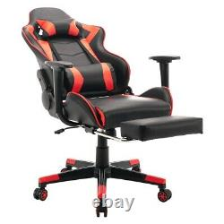 Office Racing Gaming Chairs Swivel Leather Recliner Computer Chair Executive
