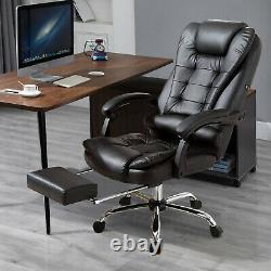 Office Racing Gaming Chairs Swivel Leather Recliner Computer Chair Executive UK
