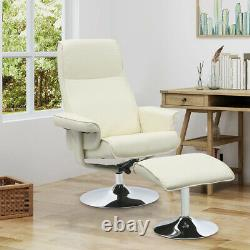 Orthopedic Leather Executive Office Chair withFootstool TV Chairs Lounge Sofa Desk