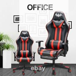PU Leather Gaming Racing Chair Recliner Swivel Lift Office Computer Desk Chairs