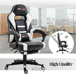 Professional Reclining Sports Racing Gaming Office Desk Pc Car Leather Chair