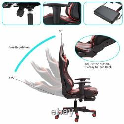 Racing Gaming Chairs Lift Swivel Office Executive Recliner Computer Desk Chairs