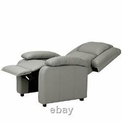 Recliner Sofa Chair Armchair Luxury Seater PU Leather Cinema Home Office