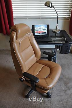 SAAB 900 Turbo CVT Leather Car Seat Executive Manager Office Gaming Race Chair