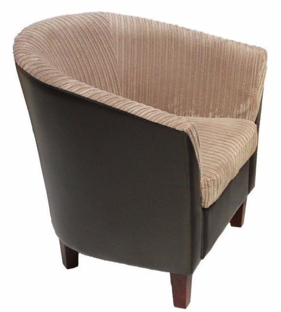Salejumbofabric Tub Chair Armchair For Dining Living Room Office Reception