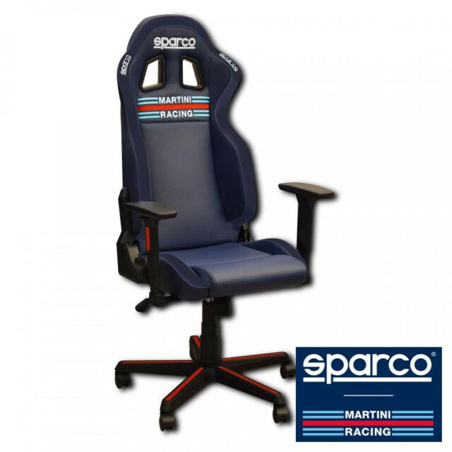 Sparco Martini Racing Icon Office Seat Chair Replica Gaming Stock