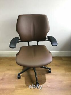 Tan / Graphite Humanscale Freedom Ergonomic Office Task Chair Free Uk Del