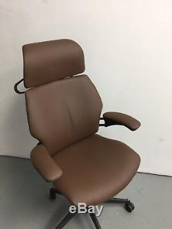 Tan Leather. Leatherhumanscale Freedom Ergonomic