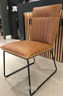 Tan Leather Look Dining/office Chair