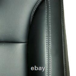 Tesla model X office chair OEM seat black leather