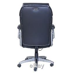 True Wellness Active Lumbar Managers Leather Office Chair Back Support & Comfort