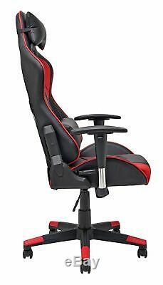 Used X-Rocker Height Adjustable Alpha Office Gaming Chair Black GBL158