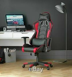 Used X-Rocker Height Adjustable Alpha Office Gaming Chair Black GO28